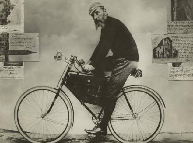 In bici fino a Spinetta come mio nonno
