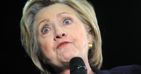 Crisi isterica di Hillary Clinton dopo la sconfitta
