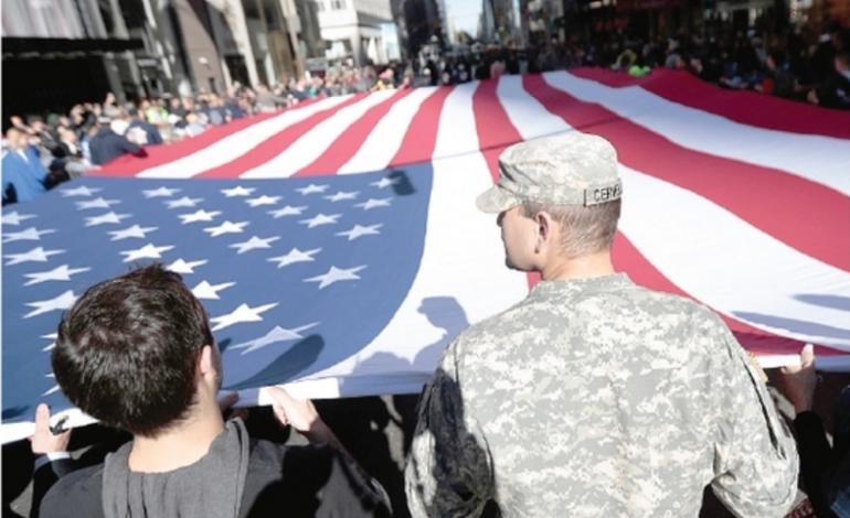 I veterani di guerra con Trump