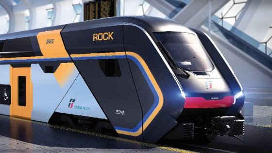 Trenitalia presenta Rock, il nuovo convoglio per i pendolari