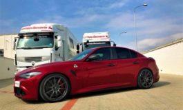 Alfa Romeo Giulia Quadrifoglio Romeo Ferraris sulla soglia dei 600 cv