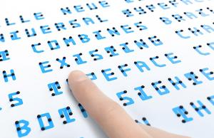 Il nuovo Braille: un font universale dedicato a vedenti e non vedenti