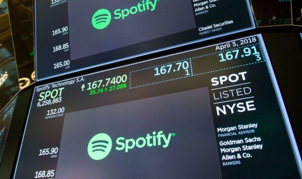 Spotify ha vinto, per ora, la sua scommessa: la sua Ipo 'fai-da-te' è la terza più grande del mondo tech