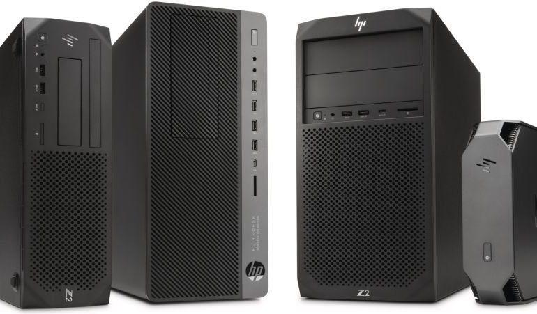 Le nuove workstation HP Z2, tra modelli mini e tower