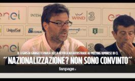 Giorgetti della Lega contro Di Maio sulla revoca della concessione ad Autostrade per l'Italia Spa