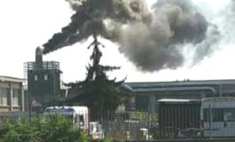 Nube tossica per un incendio di poliuretano e polistirolo