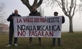 Mobilitazione a Sezzadio contro l'inizio dei lavori per la discarica
