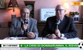 La papera di Donnarumma e la Champions con Manchester-Juve