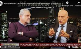 Adelio Ferrari, candidato alla presidenza della Camera di Commercio, è convinto che Alessandria e Asti insieme siano vincenti
