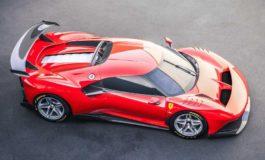 Ferrari P80/C one-off basata sulla 488 GT3