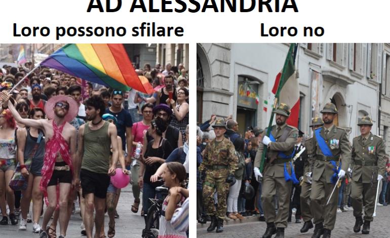 Alessandria dice di sì al Gay Pride ma dice di no all'Adunata degli Alpini