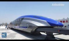 Altro che TAV: la Cina rivela un prototipo di treno a levitazione magnetica capace di raggiungere i 600 km/h