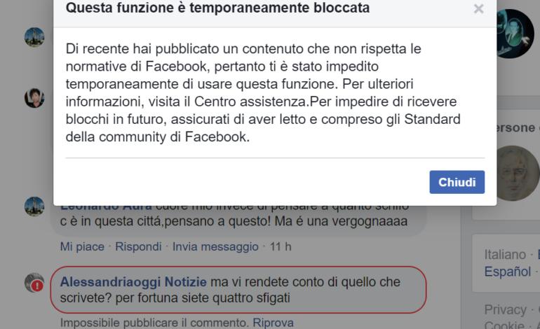 La censura di Facebook