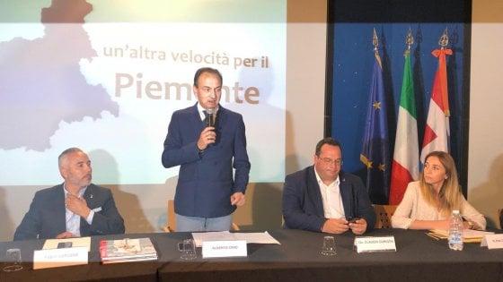 Giunta regionale a Novi Ligure, Cirio: il lavoro è la priorità del Piemonte