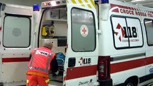 Schianto in viale Teresa Michel: motociclista all'ospedale in codice rosso