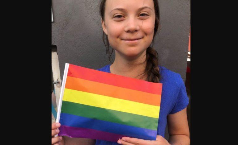 Greta e i suoi gretini vanno ai Gay Pride: per la carità!