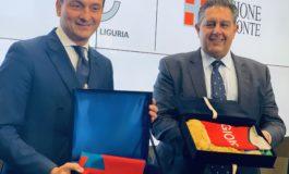 Bilaterale Liguria - Piemonte, gli impegni di Toti e Cirio per l'alessandrino: più treni sulla linea ferroviaria Acqui-Genova e potenziamento del retroporto di Alessandria