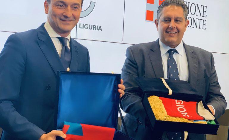 Bilaterale Liguria – Piemonte, gli impegni di Toti e Cirio per l'alessandrino: più treni sulla linea ferroviaria Acqui-Genova e potenziamento del retroporto di Alessandria