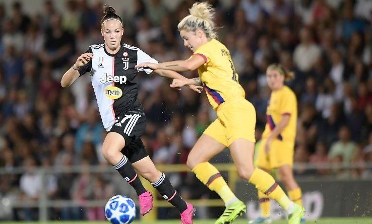 """Champions amara per la Juventus Femminile: al """"Moccagatta"""" il Barcellona si impone 2-0"""