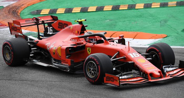 F1: primo Leclerc a Monza con la Ferrari che vince dopo 9 anni