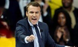 Macron sempre più vergognoso