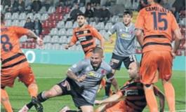 """Alessandria beffata in pieno recupero: al """"Moccagatta"""" con la Pistoiese è solo 1-1"""