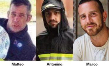 Online una petizione per chiedere al sindaco di Quargnento di dedicare un monumento ai tre Vigili del Fuoco scomparsi