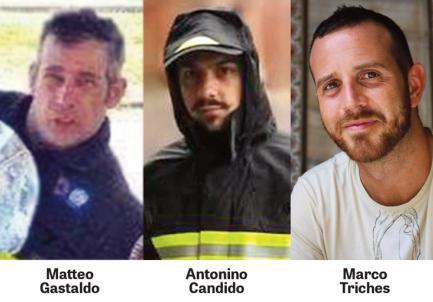 Vigili del Fuoco: le celebrazioni di Santa Barbara nel ricordo di Marco Triches, Matteo Gastaldo e Antonio Candido