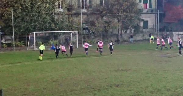 Promozione: la Gaviese batte l'Acqui nel recupero dell'8° giornata di andata e dedica la vittoria a Matteo Gastaldo