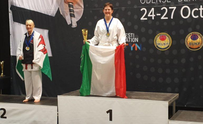 L'acquese Laura Ferrari campionessa europea di karate