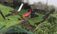 Per il maltempo ha ceduto il muro al parco scolastico di Carpeneto
