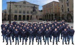 A Casale Monferrato il giuramento solenne degli Allievi Agenti della Polizia di Stato di Alessandria e il camper contro la violenza sulle donne