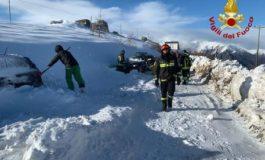 Bufera di neve nel Cuneese, soccorse 40 persone