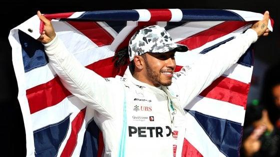 Formula 1, Hamilton campione del mondo 2019: statistiche e record del sesto titolo