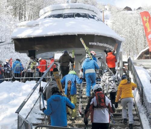Valsesia a rischio per gli sciatori: i carabinieri controllano le piste