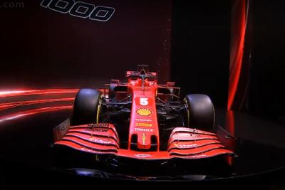 """Ferrari, ecco la SF1000: """"La Rossa per vincere"""""""