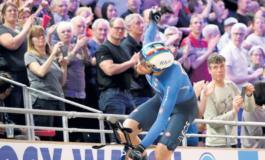 Il pistard piemontese Filippo Ganna Campione del Mondo per la quarta volta (terza consecutiva)