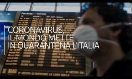 Italia isolata per il Coronavirus