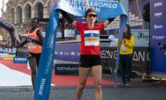 Atletica leggera: l'alessandrina Valeria Straneo vince il tricolore nella mezza maratona di Verona