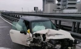 Ventiseienne grave dopo un incidente sulla A21 Torino - Piacenza
