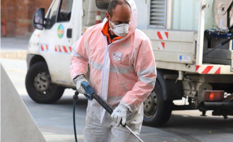 """Poderosa azione di bonifica urbana da parte delle squadre di Amag. Il Presidente Arrobbio: """"Grazie di cuore a tutti gli operatori"""""""