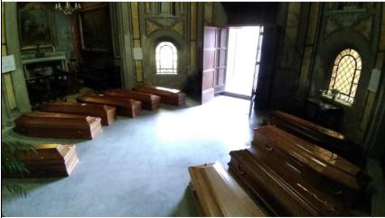 Emergenza a Tortona: almeno 50 i morti positivi al Covid19