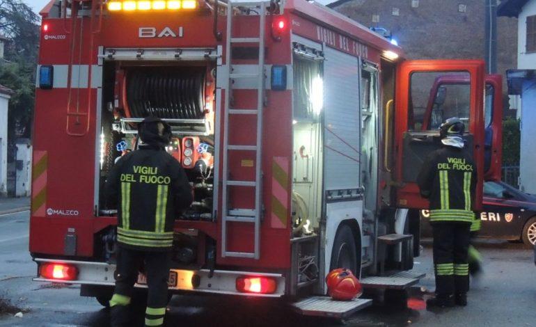 Incendio nel salone della Curia a Pozzolo Formigaro: esclusa l'ipotesi dolosa, si pensa a un corto circuito