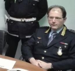 Ricordato stamane a Tortona con le sirene delle auto di servizio il vicecomandante Gastaldo, morto con coronavirus la scorsa settimana