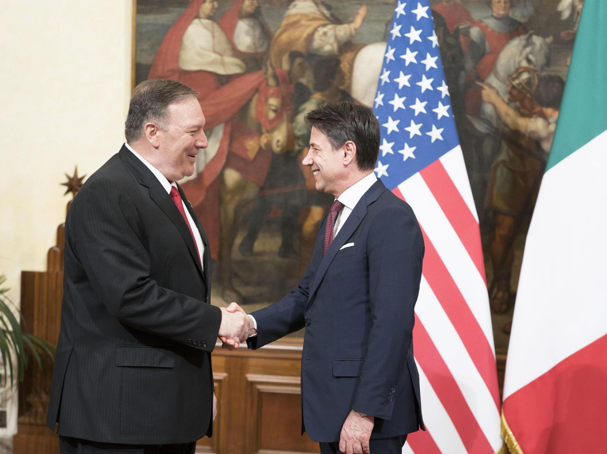 Europa addio? Pompeo: nessuno aiuterà l'Italia più degli Stati Uniti –  Alessandria Oggi