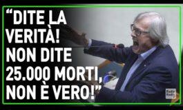 Sgarbi: sul Covid19 dati falsi per terrorizzare gli italiani