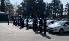 Coronavirus: i vigili urbani di Alessandria in picchetto d'onore per le esequie del volontario morto col Covid19