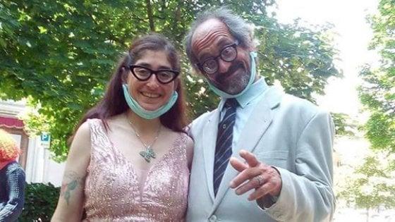 Si sposano due clochard di Faloppio: quando c'è l'amore c'è tutto
