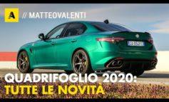 Alfa Romeo Giulia Quadrifoglio 2020: 510 CV con nuovi colori e più tecnologia