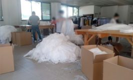 Scoperto a Torino centro illegale per la produzione di mascherine: lavorava per conto di una ditta cuneese